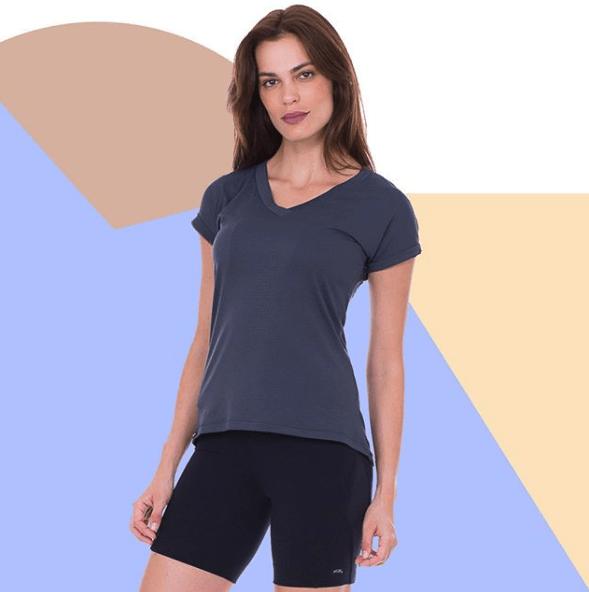 camiseta fitness